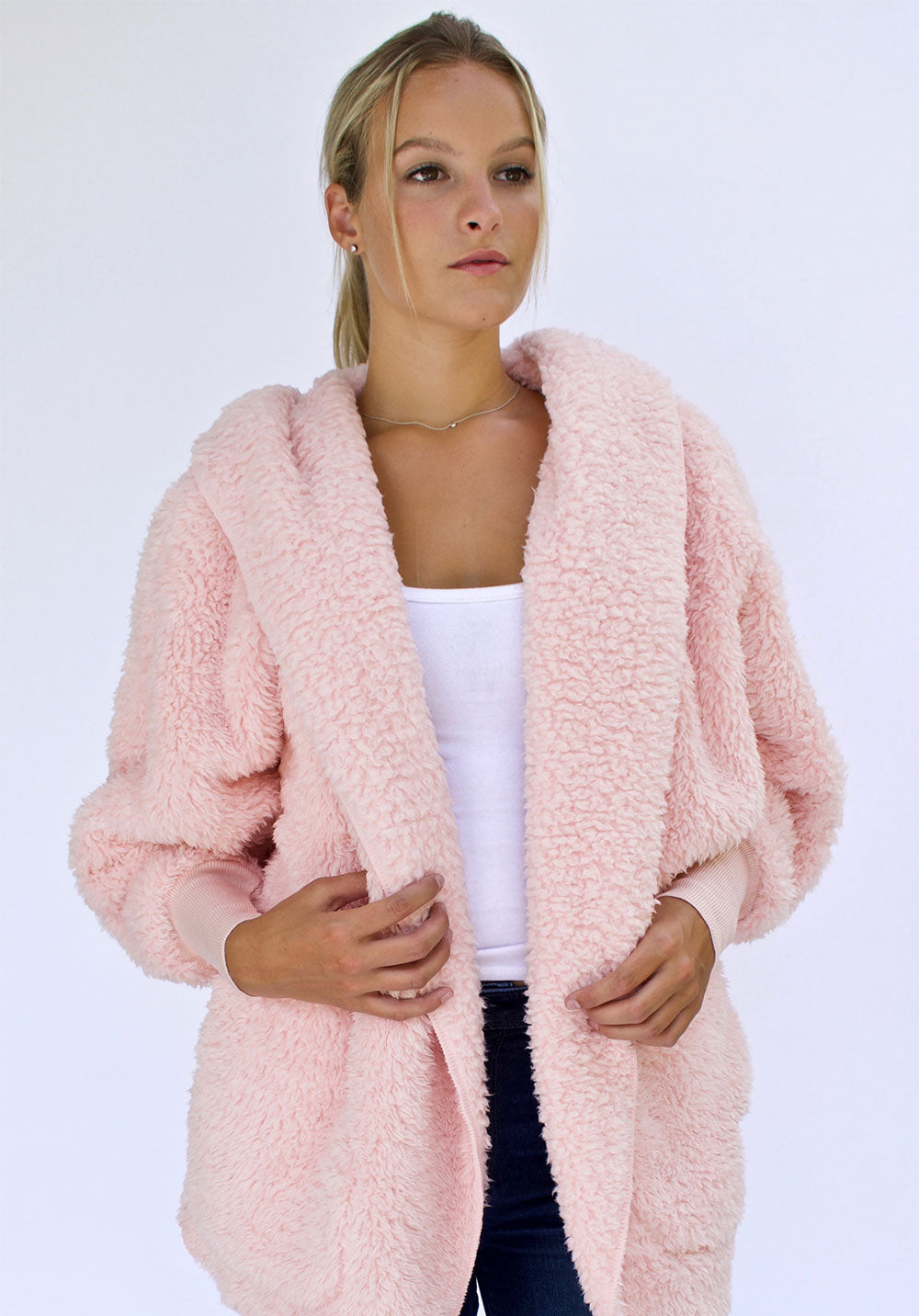 Nordic Beach Sweater - Pink Heaven