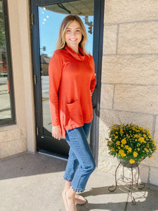 Spice Cowl Neck Top