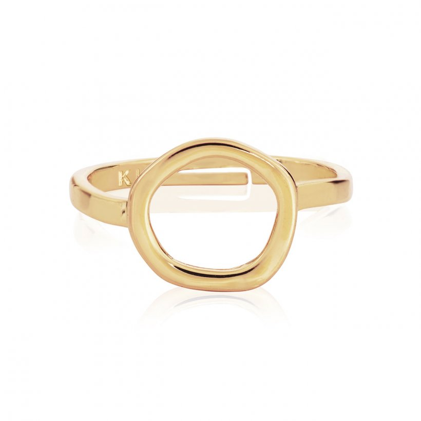 ISLA GOLD OPEN RING