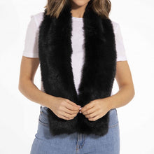Load image into Gallery viewer, Faux Fur Stole