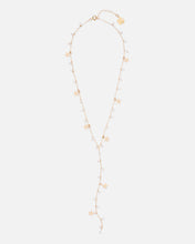 Load image into Gallery viewer, MADELINE 14K GOLD FILLED PEARL AND STARS DROP NECKLACE