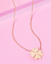 Load image into Gallery viewer, SIGNATURE CLOVER 14K GOLD FILLED NECKLACE