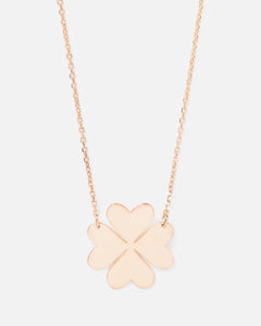 SIGNATURE CLOVER 14K GOLD FILLED NECKLACE