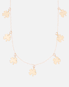 CHARM 14K GOLD FILLED NECKLACE