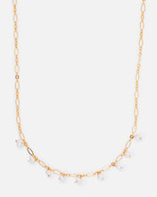 Load image into Gallery viewer, OLIVIA 14K GOLD FILLED PEARL AND FANCY CHAIN NECKLACE