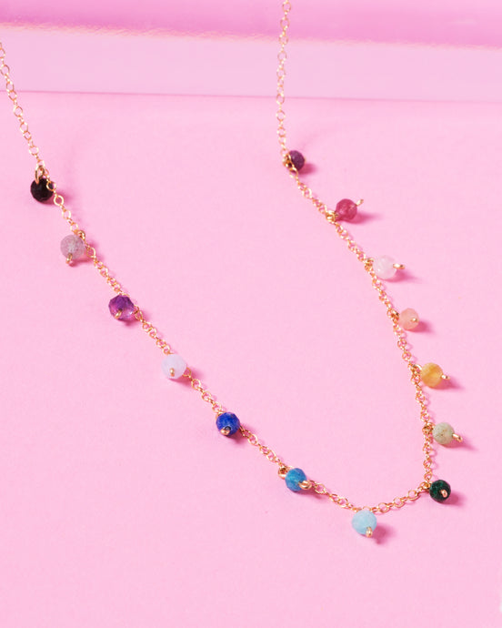 RAINBOW WILLOW 14K GOLD FILLED NECKLACE