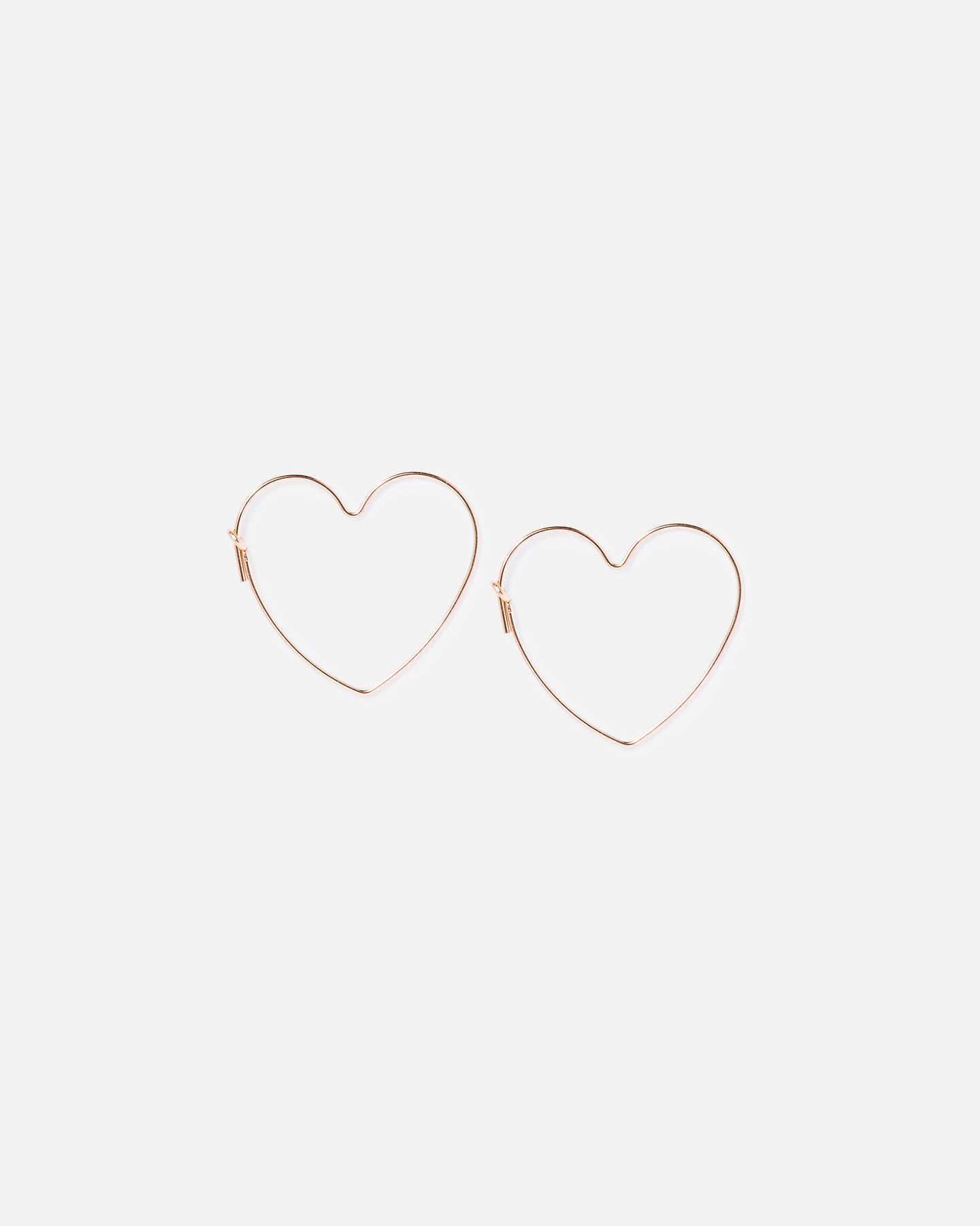 Heart Eyes Hoops