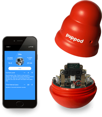 PupPod Inside with App