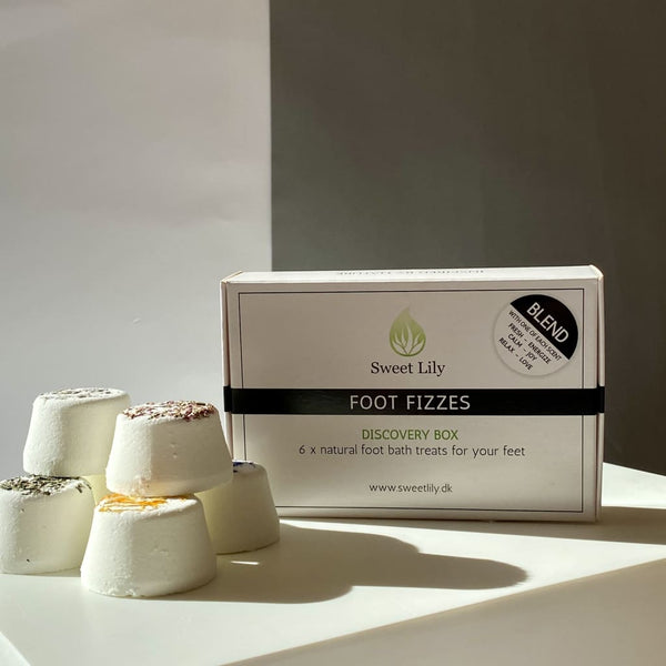 Foot Fizzes - Discovery box blend 6 stk - Foot Fizzes