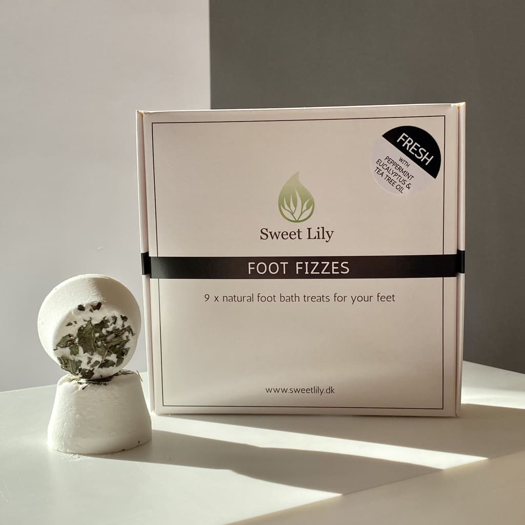 Foot Fizzes - Fresh 9 stk - Fødder - Foot Fizzes