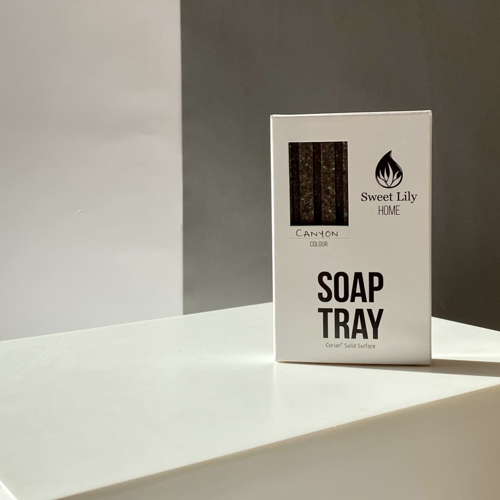 Soap Tray Corian - Canyon | Sæbeskål i Corian - Canyon -