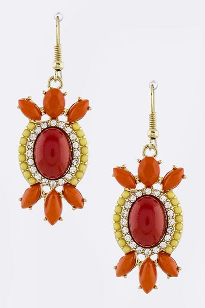 Dangle Shourouk Earrings