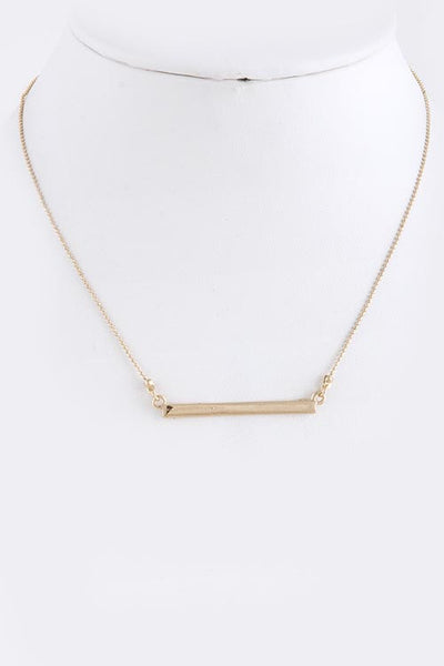 Bar Necklace in Gold