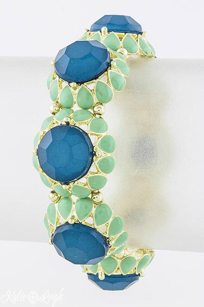 Jeweled Dome Bracelet