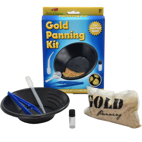 Science Toys and Discovery Toys including bug viewers, gold panning kit, build your own solar system kit