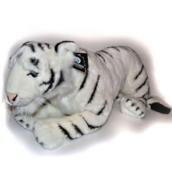 Huge Giant Cuddly Toy Plush White Tiger