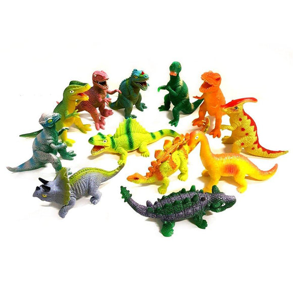 11cm Stretchy Dinosaur Pocket Money Sensory Squeezy Toy Choice of 11 designs