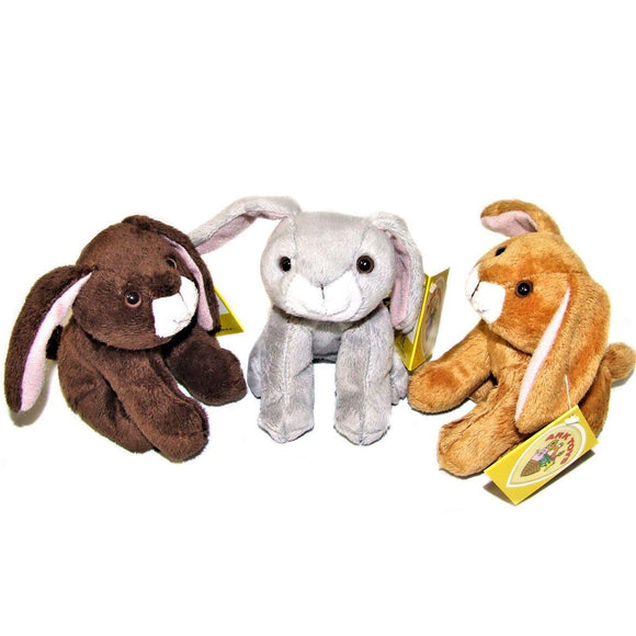 12cm Bunny Rabbit Soft Toy suitable for all ages, Pack of 10