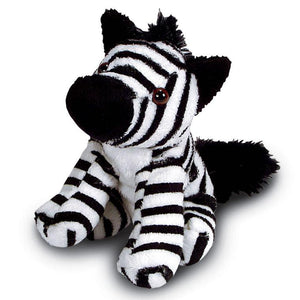 13cm Zebra Cuddly Soft Toy suitable for all ages