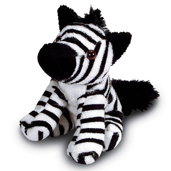 Pack of 10 x 13cm Zebra Cuddly Soft Toy suitable for all ages