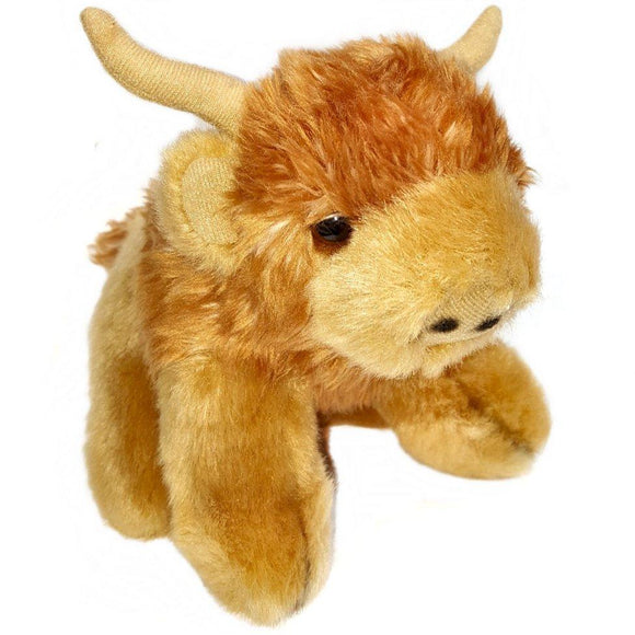 13cm Highland Cow Cuddly Soft Toy suitable for all ages