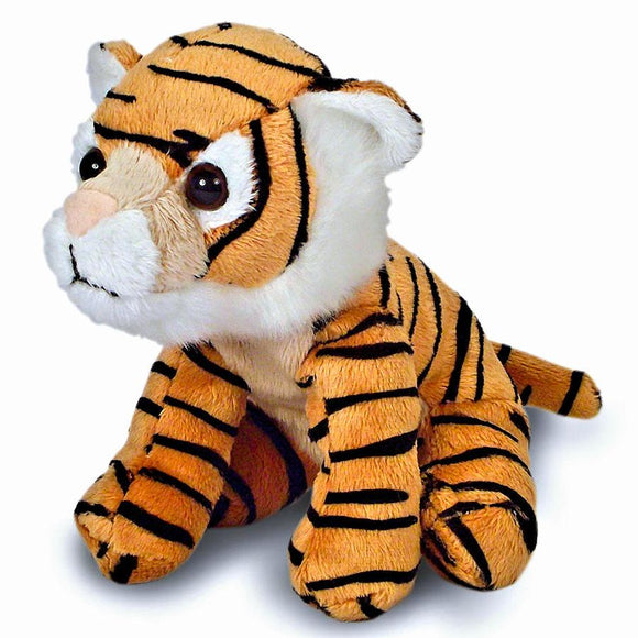 pack of 10 13cm Tiger cuddly plush toys suitable for all ages