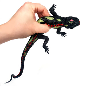 25cm Large Stretchy Lizard sold in assorted colours