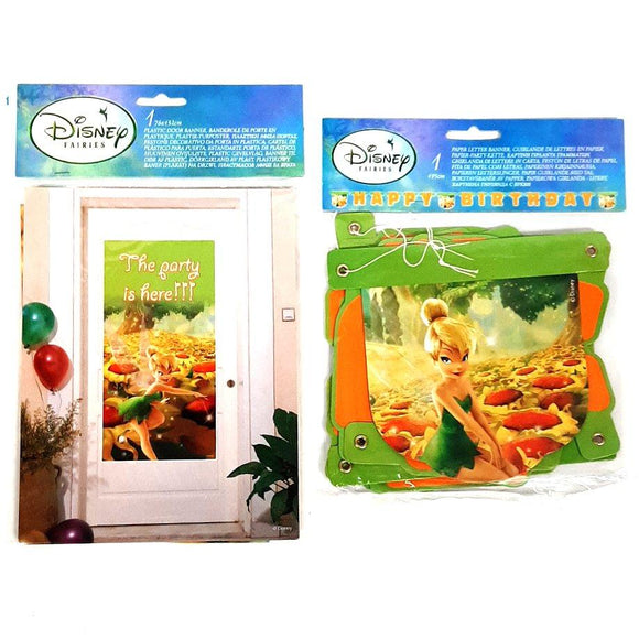 Disney Tinkerbell Party Banners