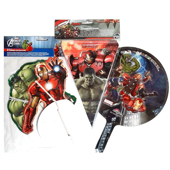 Marvel Avengers Party Decorations Pack