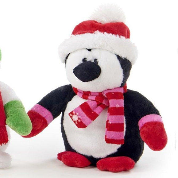30cm Penguin Christmas Cuddly Plush Decoration Gift Toy