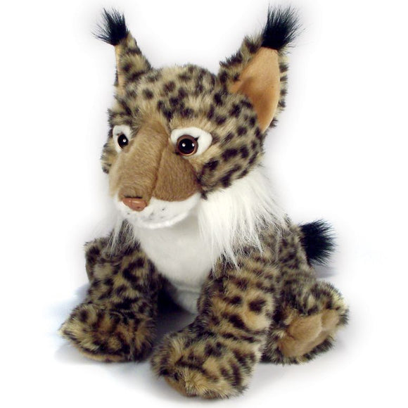 30cm Lynx Cuddly Plush Toy