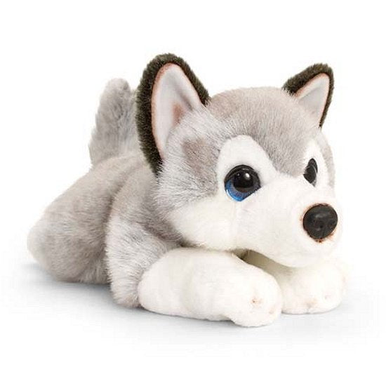 Husky cuddly soft toy plush dog