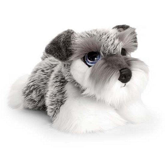 Schnauzer cuddly plush soft toy dog