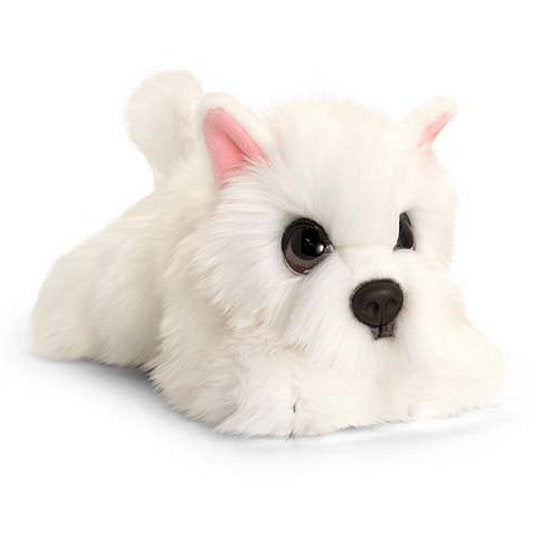 Westie cuddly soft plush toy dog