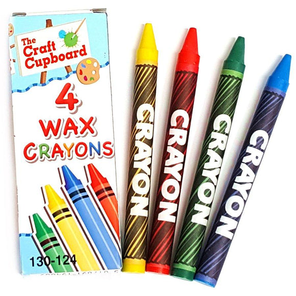 Set of 4 Wax Crayons