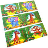 Pack of 50 Small Farm Jigsaw Puzzles for groups, schools party and fundraising