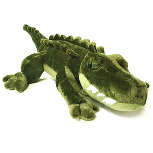 Large crocodile cuddly soft toy - plush stuffed toy animal