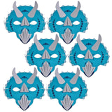 100 blue dinosaur children's masks fundraising pack