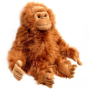 Giant Orangutan Cuddly Soft Plush Stuffed Toy