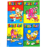 A6 Puzzle Fun Activity Books Party Bag Filler Favor
