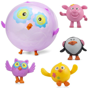 Animal design Balloon Ball sensory Pocket Money Toy