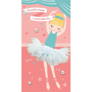 Hallmark Ballerina Birthday Card