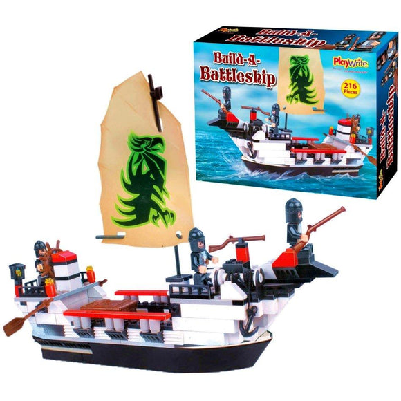 Battleship Building Brick Set Compatible with Major Brands