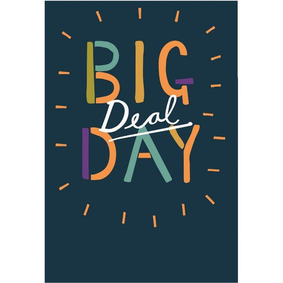 Big Deal Day Hallmark Birthday Card