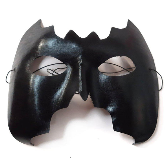 Adult Black Bat Masquerade Ball Party Mask