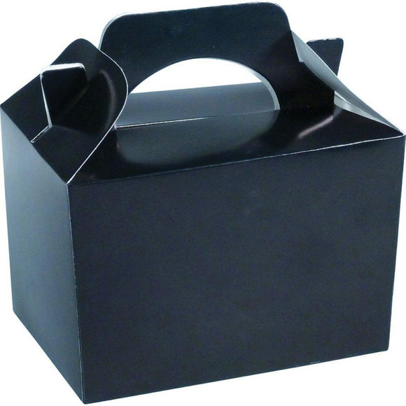 Black Party Food Gift Cake Toy Favor Boxes