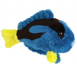 Blue Tang Fish Cuddly Sea Life Plush Soft Toy
