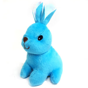 13cm Brightly Coloured Rabbit Cuddly Plush Toys