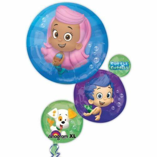 Bubble Guppies Super Shape Foil Balloon - nickelodeon - Birthday Decorations