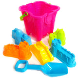 Castle Bucket and Spade 7pc Set